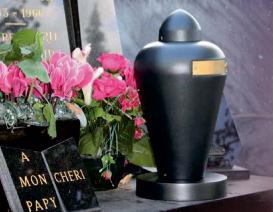 urne cineraire cimetiere cremation