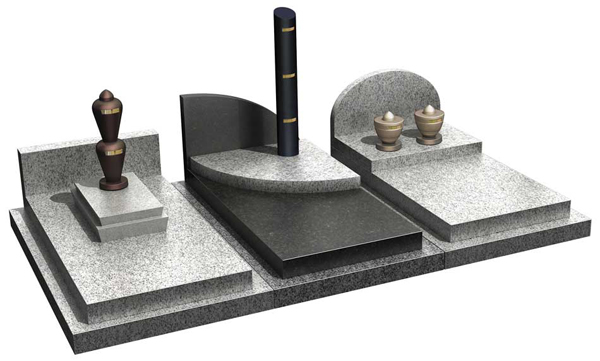 urne funeraire a sceller
