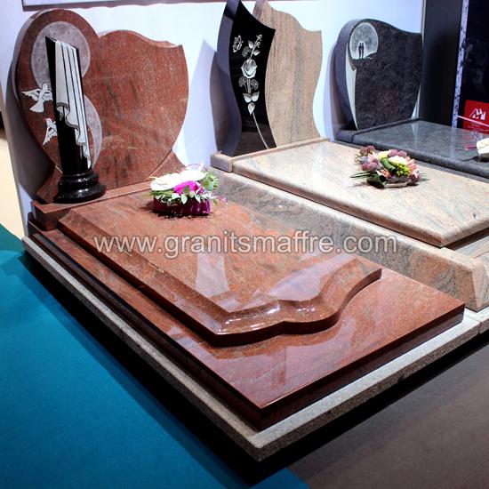 monument funéraire en granit romantica